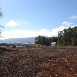 土地160坪、上下水道付、原村中心部約1.8キロ、便利なD区画