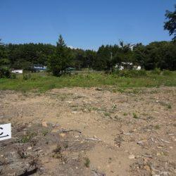 土地164坪、上下水道付、原村中心部約1.8キロ、便利な移住C区画