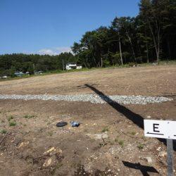 土地187坪、上下水道付、原村中心部約1.8キロ、便利な移住E区画