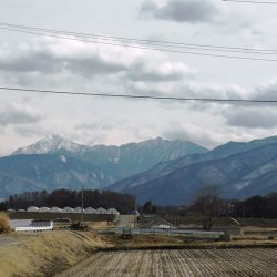八ヶ岳、南アルプスの眺望、長円寺385坪高台土地へ移住