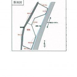 台形の土地は原村の財産区(行政の代行機関)が持っている土地です