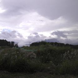 原村移住、南側が畑で南アルプスの眺望良好689坪土地B区画